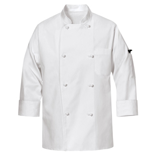 Cotton Unisex Chef Coats - Click for Large View