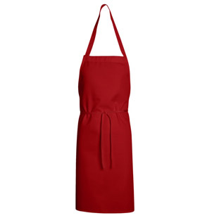 Bib Apron - Mid Length without pockets - Click for Large View