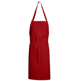 Bib Apron - Mid Length without pockets