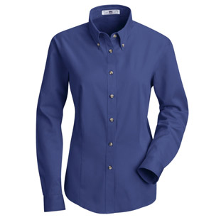 Lee Womens Meridian Performance Long Sleeve Twill Shirt - Click for Large View