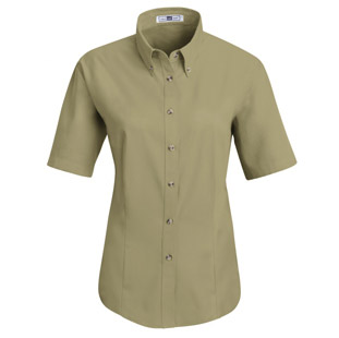 Lee Womens Meridian Performance Short Sleeve Twill Shirt - Click for Large View