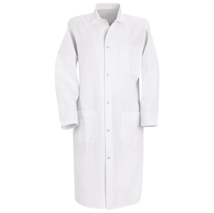 Unisex Butcher Frock with Inside Breast Pocket - Click for Large View