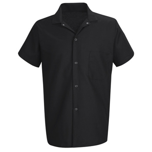 Unisex Standard Black Cook Shirt - Click for Large View
