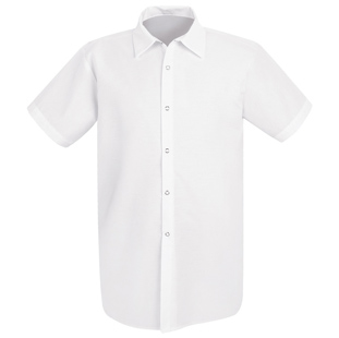 Unisex Long Cook Shirt  without Pocket (Has Longer Body Length) - Click for Large View
