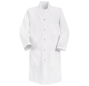 Red Kap Womens  Basic White Lab Coats - Click for Large View