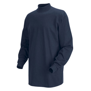 Long Sleeve Mock Turtleneck Shirts - Click for Large View
