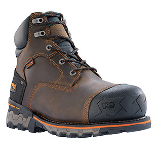 Timberland PRO 6 Inch Boondock Waterproof Composite Safety Toe Work Boot - Click for Large View
