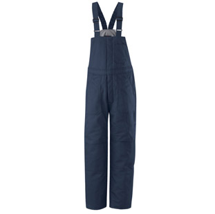 Flame Resistant Cotton Blend Deluxe Insulated Bib Overalls - Click for Large View