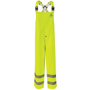 Flame Resistant Hi-Visibility Rain Bib Overall HRC2 - Click for Large View