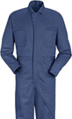 Men's Snap Front Cotton Coveralls - 5 color choices