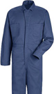Men's Button Front Cotton Coveralls - 4 color choices