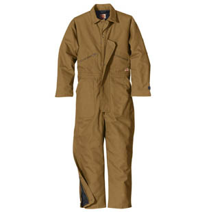 Duck Insulated Coverall - Click for Large View
