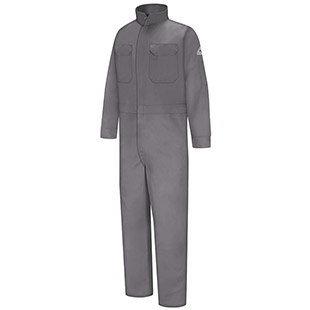 Flame Resistant Excel-FR Cotton Deluxe Coveralls - Click for Large View