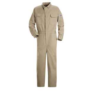 Flame Resistant Excel-FR Deluxe Cotton Coverall - Click for Large View