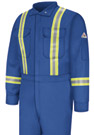 Flame Resistant Comfortouch Coverall with Reflective Trim