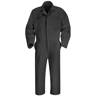 Red Kap Action Back Twill Coveralls - Click for Large View