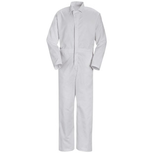 Mens Action Back Twill Coveralls with No Chest Pockets - Click for Large View