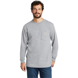 Carhartt Workwear Pocket Long Sleeve T-Shirt - Click for Large View