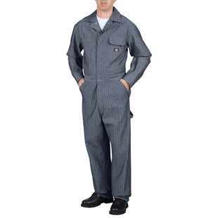 Dickies Fisher Stripe Cotton Coverall - Click for Large View