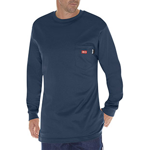 Dickies Flame Resistant Long Sleeve Tee - Click for Large View