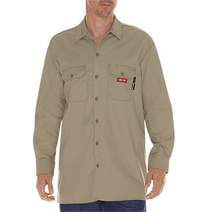 Dickies Flame Resistant Twill Shirt - Click for Large View