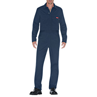 Dickies Flame Resistant Long Sleeve Coverall - Click for Large View
