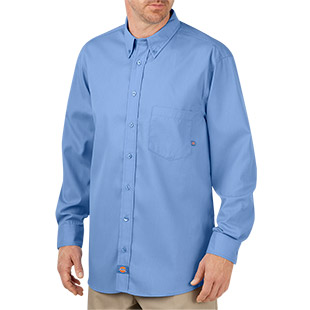 Dickies Comfort Flex Long Sleeve Shirt - Click for Large View