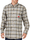 Dickies Flame Resistant Long Sleeve Plaid Shirt