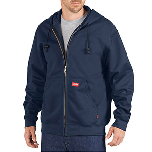 Dickies Flame Resistant Zip Fleece Hoodie - Click for Large View