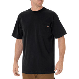 Dickies Short Sleeve Heavyweight Crew Neck - Click for Large View