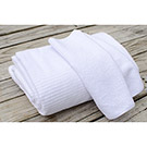 Enviro-Linen 28 by 48 Microfiber Ribbed Bath Towel