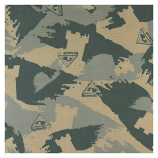 Flame Resistant Excel-FR Camo Bandana and Head Tie - Click for Large View