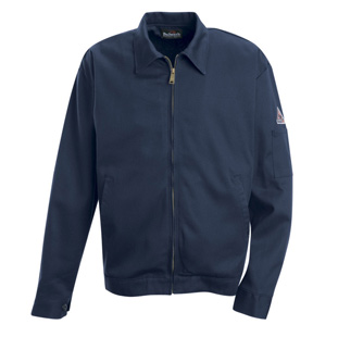 Flame Resistant Zip-in Zip-out Cotton Jacket - Liner Not Included - Click for Large View