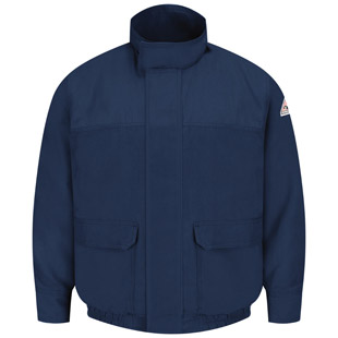 Flame Resistant CoolTouch 2 Lined Bomber Jacket - Click for Large View