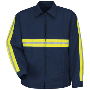 Enhanced Visibility Perma-Lined Panel Jacket - Click for Large View