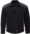 Red Kap Men's Durable Water Repellent Performance Crew Jacket