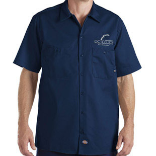 OC Court Poplin Blend Short Sleeve Shirt - Click for Large View