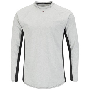 Flame Resistant Excel-FR Two Tone Long Sleeve Base Layer - Click for Large View