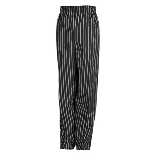 Spun Polyester Unisex Baggy Chef Pants - Click for Large View