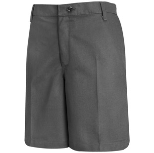 Red Kap Womens Dura-Kap Plain Front Shorts - Click for Large View