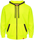 Closeout - Full-Zip Flourescent Work Hoodie
