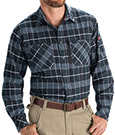 Closeout - Flannel Plaid Workshirt