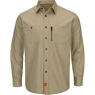 Closeout - Woven Work Shirt with MIMIX Technology - Click for Large View