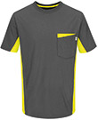 Closeout - Color Blocked Visibility T-Shirt