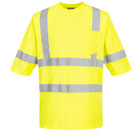 Portwest Hiv Vis Mesh Panel T-Shirt - Type R, Class 3