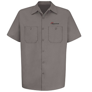 Sequoyah Electric 100% Cotton Short Sleeve Work Shirt - Click for Large View