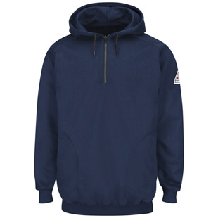 Flame Resistant Pullover Hooded Fleece Sweatshirt - Click for Large View