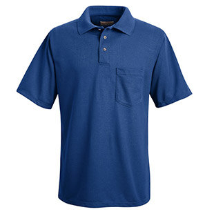Unisex 100% Polyester Pique Polo Shirt - Click for Large View