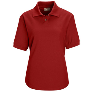 Ladies Blend Pique Knit Polo - Click for Large View
