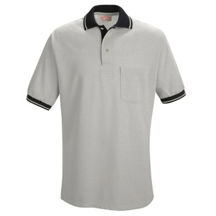 Unisex Contrast Trim Performance Knit Polos - Click for Large View
